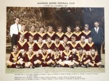 Manning U12 Premiers 1965