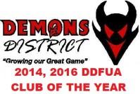 2016 DDFUA CLUB AWARD
